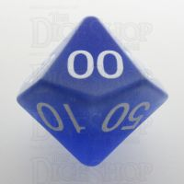 TDSO Cats Eye Light Blue 16mm Precious Gem Percentile Dice