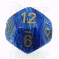 Chessex Vortex Blue D12 Dice