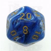 Chessex Vortex Blue D20 Dice