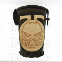 QD Space Marine Brown Leather Dice Cup
