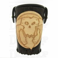 QD Orc Brown Leather Dice Cup