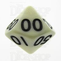 TDSO Opaque Ivory Percentile Dice