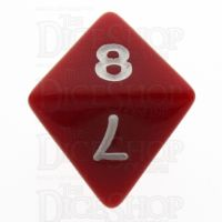 TDSO Opaque Red D8 Dice