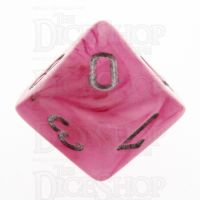 Chessex Ghostly Glow Pink D10 Dice