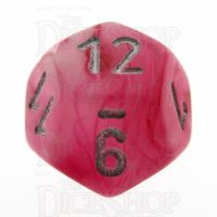 Chessex Ghostly Glow Pink D12 Dice