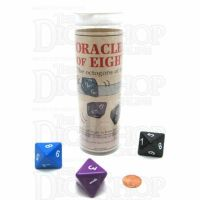 Koplow Oracles of Eight Fate Fortune Telling JUMBO 3 x D8 Dice Game