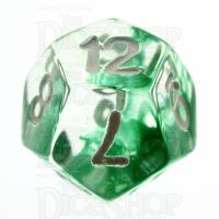 TDSO Eldritch Swirl Green D12 Dice