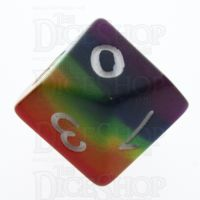 TDSO Layer Rainbow D10 Dice