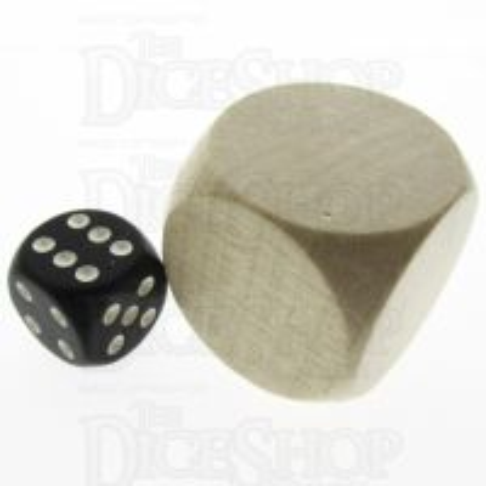 Koplow Wooden Blank 30mm D6 Dice