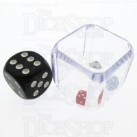 Koplow 3 in a Cube Red White & Blue 25mm Dice