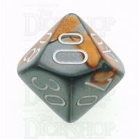 Chessex Gemini Copper & Steel Percentile Dice