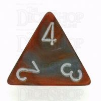 Chessex Gemini Copper & Steel D4 Dice