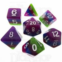 TDSO Layer Tropical 7 Dice Polyset
