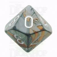 Chessex Gemini Copper & Steel D10 Dice