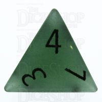 TDSO Aventurine Green with Engraved Numbers 16mm Precious Gem D4 Dice