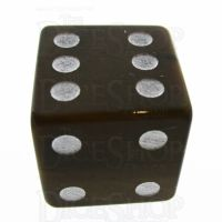 TDSO Tiger Eye Gold with Engraved Spots 16mm Precious Gem D6 Dice