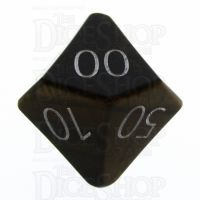 TDSO Tiger Eye Gold with Engraved Numbers 16mm Precious Gem Percentile Dice
