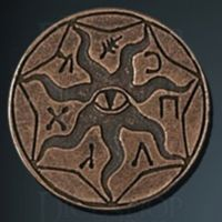 Cthulhu Legendary Metal Copper Coin