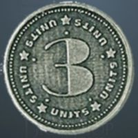 Units Legendary Metal Silver Coin