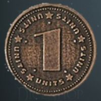 Units Legendary Metal Copper Coin