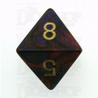 Chessex Gemini Purple & Red D8 Dice