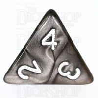 TDSO Duel Gold & Silver D4 Dice