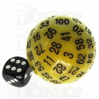 TDSO Opaque Yellow D100 Dice