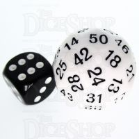 TDSO Opaque White D50 Dice