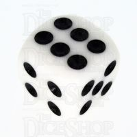 TDSO Opaque White 16mm D6 Spot Dice