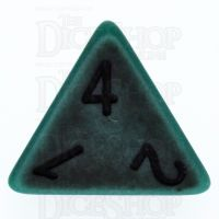 TDSO Opaque Antique Green D4 Dice
