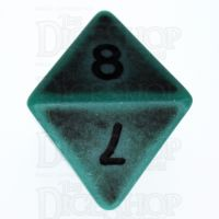 TDSO Opaque Antique Green D8 Dice