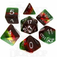TDSO Layer Transparent Celestial 7 Dice Polyset