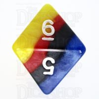 TDSO Layer Burning Sand D8 Dice