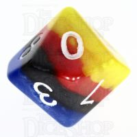 TDSO Layer Burning Sand D10 Dice
