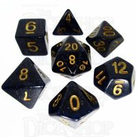 TDSO Galaxy Glitter Universe 7 Dice Polyset