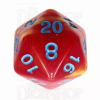 TDSO Duel Red & Yellow with Blue D20 Dice - Discontinued