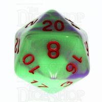 TDSO Duel Green & Purple with Red D20 Dice - Discontinued