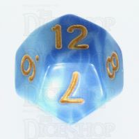 TDSO Duel Blue & Light Blue D12 Dice - Discontinued