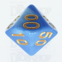 TDSO Duel Blue & Light Blue Percentile Dice - Discontinued