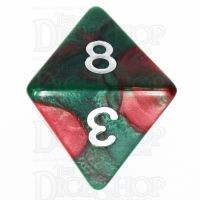 TDSO Duel Green & Red D8 Dice