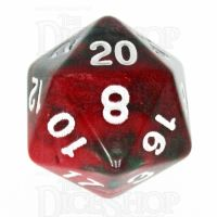 TDSO Duel Green & Red D20 Dice