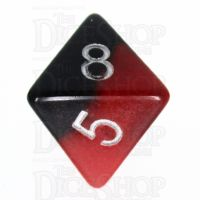 TDSO Duel Hot Rocks Glow in the Dark D8 Dice