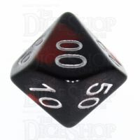 TDSO Duel Hot Rocks Glow in the Dark Percentile Dice