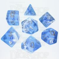 TDSO Layer Transparent Blue Sky 7 Dice Polyset