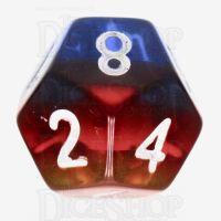 TDSO Layer Transparent Burning Sand D12 Dice