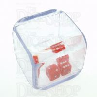 Koplow 3 in a Cube Red 25mm D6 Spot Dice