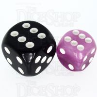 TDSO Layer Purple 12mm D6 Spot Dice