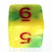 TDSO Duel Green & Yellow With Red D6 Dice - Discontinued