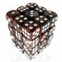 TDSO Duel Copper & Steel 36 x D6 Dice Set