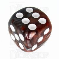 TDSO Duel Copper & Steel 16mm D6 Spot Dice